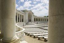Меморіал амфітеатр, Арлінгтонському національному кладовищі — стокове фото