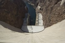 Hoover Dam on the Colorado River — Stock Photo