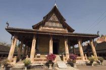 View of Wat Si Saket — Stock Photo