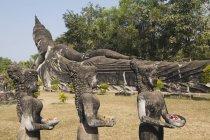 Будда парк, В'єнтьян, Лаос — стокове фото