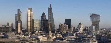City panorama of London — Stock Photo