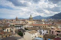 Observing cityscape view of Palermo — Stock Photo