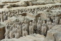 View on Terracotta Army — Stock Photo