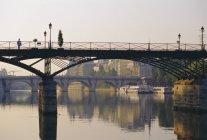 Blick auf den Fluss Seine — Stockfoto