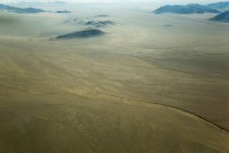 Observing aerial view of Namib Desert — Stock Photo