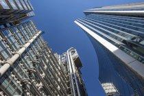 Unteransicht des Lloyds Building — Stockfoto