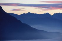 Observing view of Dolomites — Stock Photo