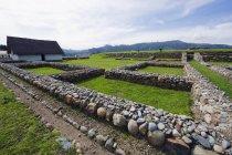 Ansicht des Inka-Ruinen zu beobachten — Stockfoto
