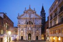 San Moise Church in Venice — Stock Photo