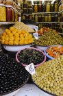 Food stall at market — Stock Photo