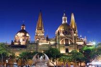 Cathedral Plaza de Armas — Stock Photo