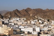 Observing view of Mutrah — Stock Photo