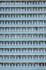 Stalinist architecture of apartment building — Stock Photo