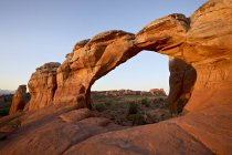 Broken Arch at dawn — Stock Photo
