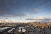 Place Jemaa El Fna — Photo de stock