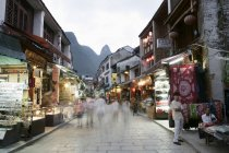 View of Yangshuo, Guangxi Province — Stock Photo