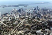 Aerial view of Miami — Stock Photo