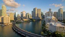Переглянути на горизонті Майамі — стокове фото