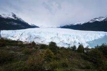 Льодовик Perito Морено — стокове фото