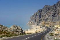 Khasab estrada costeira — Fotografia de Stock
