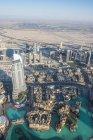 Dubai from Burj Khalifa — Stock Photo
