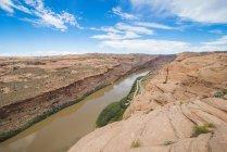 Blick auf den Colorado River zu beobachten — Stockfoto