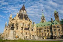 Centre Block on Parliament Hill — Stock Photo