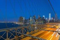 New York skyline, Manhattan — Stock Photo