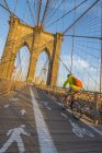 Brooklyn Bridge, Manhattan — Stock Photo