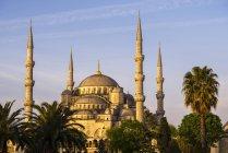 Moschea blu, Moschea del sultano Ahmed — Foto stock