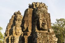 Four-faced towers in Prasat Bayon — Stock Photo