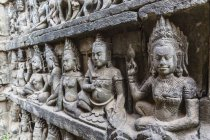 Leper King Terrace in Angkor Thom — Stock Photo