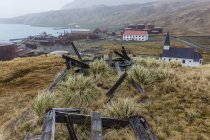 Abandoned whaling station — Stock Photo