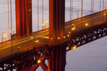 Observing view of Golden Gate Bridge — Stock Photo