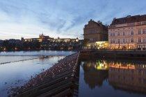 View over River Vltava — Stock Photo