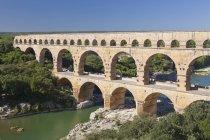Pont du Gard, Roman aqueduct — Foto stock