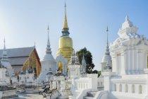 Temple de Wat Suan Dok — Photo de stock