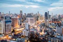 Vue sur bangkok, Thaïlande — Photo de stock