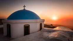 View of Church at sunrise — Stock Photo