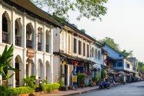 Bâtiments de style colonial Français — Photo de stock