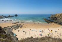View of Beach at Zambujeira do Mar — Stock Photo