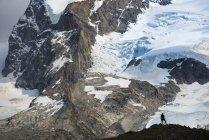 Trekking in Swiss Alps — Stock Photo