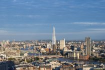 London and the River Thames — Stock Photo