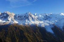 Vista da Montanha Mont Blanc — Fotografia de Stock
