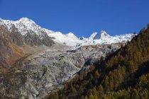 Vue du glacier du Tour — Photo de stock