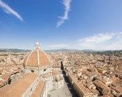 Вид на Старый город Флоренции — стоковое фото