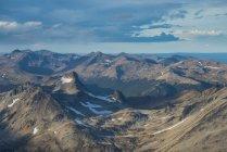 Vista aérea de Tierra del Fuego - foto de stock