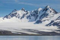 Красиві пейзажі льодовикового — стокове фото