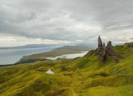 Vue du Old Man of Storr — Photo de stock