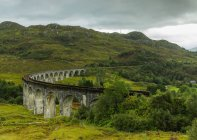 View of Glenfinnan Viaduct — Stock Photo
